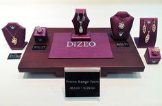August 15, 2013: We are introducing our new line of fashion jewelry.  Dizeo offers beautiful jewelry at an affordable price.  Each item is made with sterling silver and has an 18 karat gold overlay.  Each item dazzles with its unique assortment of simulated diamonds. #tenenbaumsjewelry