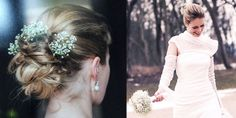 Brautstyling, Braut Make up, Wedding day, bridal make up, beautiful make up,  Hochsteckfrisur für die Hochzeit, Brautfrisur mit Blumeb