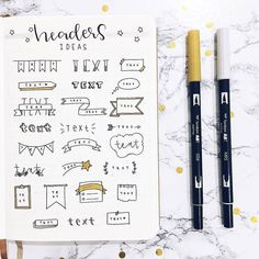 Learn how to draw these pretty bullet journal doodles for january cover page.Try these easy and beautiful doodles for your own bujo now. Bullet Journal Planner, January Bullet Journal, Bullet Journal Headers, Bullet Journal Cover Page, Journal Fonts, Bullet Journal Aesthetic, Bullet Journal Notebook, Bullet Journal Ideas Pages, Bullet Journal Inspo