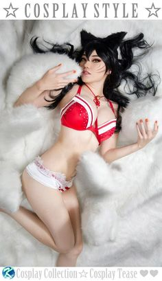 ♡ Ahri ~ Sexy Linger...