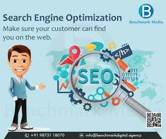 Digital Marketing Company – Benchmark Media is a top rated Digital Marketing agency offering expert digital marketing services to startups & small businesses in Gurgaon, Noida & Delhi. Digital Marketing Services, Seo Services, Email Marketing, E Commerce Business, Online Business, Seo Firm, On Page Seo, Seo Agency, S Mo