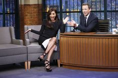 Eva Longoria - Late Night with Seth Meyers : Global Celebrtities (F) FunFunky.com
