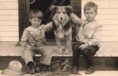 Farm boys by Libby Hall Dog Photo, via Flickr