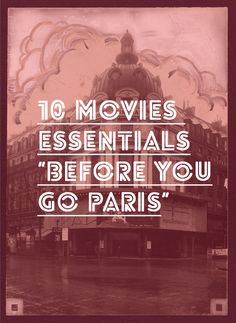 Movies to Watch Before Going to Paris Great list of movies to see before you go to Paris to get you in the mood.Great list of movies to see before you go to Paris to get you in the mood. Oh Paris, Paris 2015, I Love Paris, Paris City, Do It Yourself Inspiration, Travel Inspiration, Cheesy Lines, Belle France, Voyage Europe