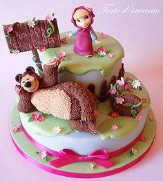 Masha e Orso - Cake by Torte d'incanto