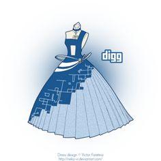 Digg in Fashion by Neko-Vi on deviantART