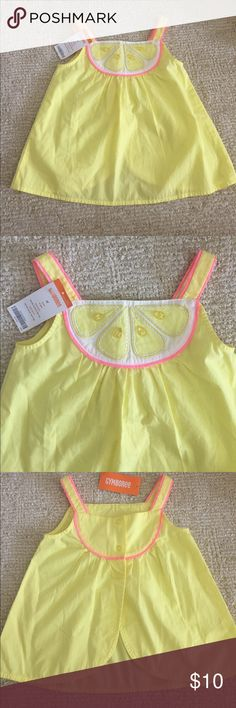 Girl's tank top Adorable girl's tank top. Brand new with tags. It is in perfect condition Gymboree Shirts & Tops
