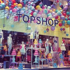 #Jubilee weekend #Topshop Window Display! #Inspired!