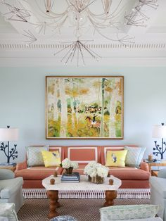 Celerie Kemble living room | Get Virtual Design Help From Celerie Exclusively Through Decorist | Decorist Home and Interior Decorating