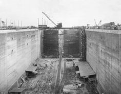 Thousands of workers started  dying and construction initially faced years of set backs du...