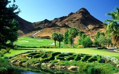 Las Vegas - Resort Golf Course - Cascata Golf. An award winning practice area with two chipping greens, a practice bunker, and an expansive putting green. Not to mention a 418-ft waterfall