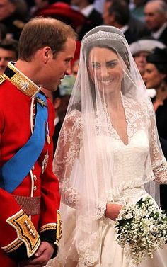 Prince William & Catherine Middleton Royal Wedding, 29 April 2011 at Westminster Abbey in London