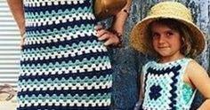 OI pessoal, lindos modelitos ....usando e sobras de linhas. square . All Things, Dresses, Fashion, Summer Sweaters, Paper Craft Work, Crochet Dresses, Crochet Clothes, Made By Hands, Templates