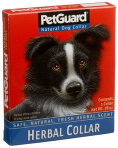 $23.96-$29.16 Pet Guard Herbal Dog Collar (Pack of 6) - The product is not eligible for priority shipping http://www.amazon.com/dp/B001EQ5JHS/?tag=pin2pet-20