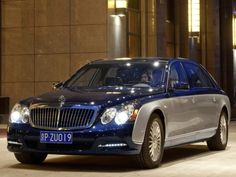 2011 Maybach 62 S -- This is the power of a new Maybach car is so cool and stylish new model. All models are available with a new, exclusively developed Bahama Blue paint. New exterior mirrors with a less aerodynamic noise driving harmonize very beautiful face.