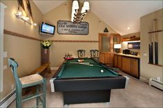 Great Best Photos, Images, And Pictures Gallery About Pool Table Room Ideas. #pool
