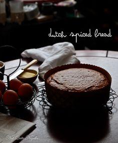 Dutch Spice Cake Ontbijtkoek @ Not Quite Nigella Dutch Recipes, Sweet Recipes, Cooking Recipes, Danish Recipes, Dutch Desserts, No Bake Desserts, Spice Cake Recipes, Bread Recipes, Danish Food