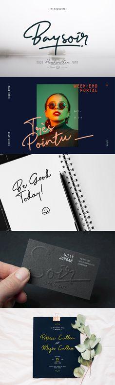 Baysoir - Desktop Font & WebFont - YouWorkForThem