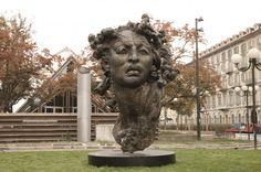 Palazzo Ersel y Piazza Solferino   Turín   Italia   2009  #JavierMarínescultor