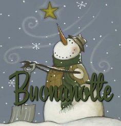 Good Night, Good Morning, Italian Greetings, Good Mood, Snoopy, Christmas Ornaments, Holiday Decor, Puppets, Bears