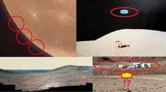 【衝撃】月面から一斉に飛び立つUFOを発見!NASAによって隠蔽された月と火星の秘密とは・・・