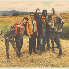 Earth version of Beast on far left - from Dirk Gently's Holistic Detective Agency, Season 2 Dirk Gently Cast, Dirk Gently Season 2, Series Movies, Tv Series, Osric Chau, Dirk Gently's Holistic Detective, Douglas Adams, Everything Is Connected, Film Serie