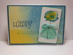 Happy Watercolor Cards