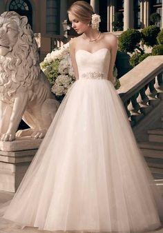 Casablanca Bridal Ball Gown Wedding Dress