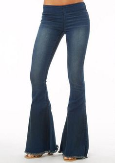 Women&39s Tall Bell Bottom Jeans with 36&quot Inseam - Tall Clothing