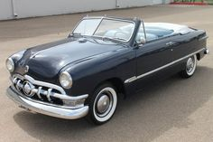 1950 Ford Shoebox convertible