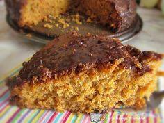 🎂 Ciasto marchewkowe z polewą czekoladową