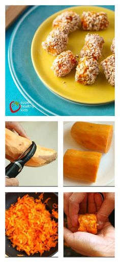 These crunchy sweet potato tots are definitely going to be our replacement for regular tater tots!  www.superhealthykids.com