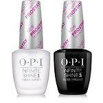 Infinite Shine ProStay Primer & Gloss Duo. This set with OPI Infinite Shine Cha-Ching Cherry.
