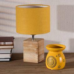Tischlampe Lanciano in fröhlichem #Sonnengelb