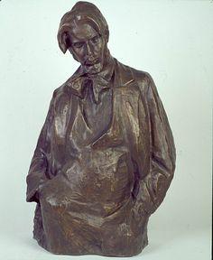 xawery dunikowski, portret henryka szczyglińskiego, 1898, brąz