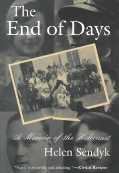 The End of Days: A Memoir of the Holocaust#awordfromJoJo #books