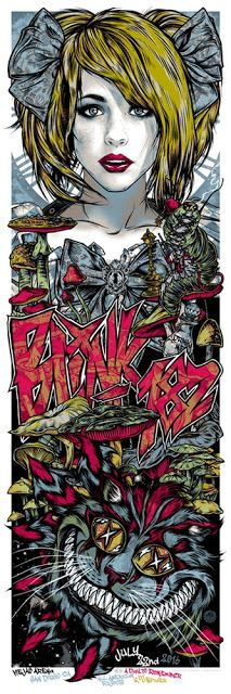 New AP Edition Concert Posters by Rhys Cooper Tour Posters, Band Posters, Music Posters, Fantasy Heroes, Fantasy Art, Blink 182 Poster, Rhys Cooper, Rock And Roll, Rock Y Metal
