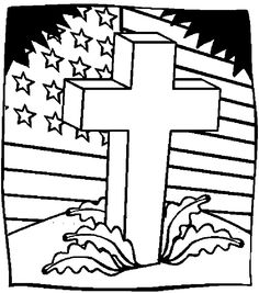 Veterans Day Coloring Pages - Hold the flag proudly Coloring Page ...