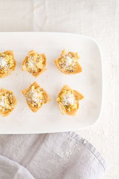 Recipe for Curried Corn Tartlets - Sugar and Charm - sweet recipes - entertaining tips - lifestyle inspiration