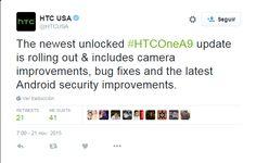 awesome La versión desbloquead del HTC One A9 empieza a recibir la actualización de seguridad de noviembre