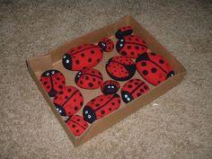 Ladybug Rocks for the garden!