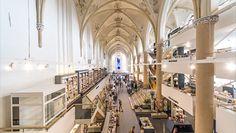 Boekhandel Waanders in de Broeren te Zwolle door BK Architecten