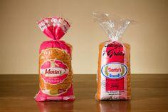 design de embalagem para pão. Antes e depois