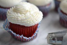 Gluten Free Red Velvet Cupcake Cakes