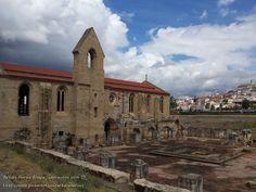 Antiguo convento de Santa Clara. Coimbra, Portugal.