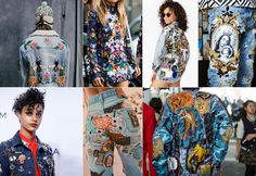 Patches - street style! #trends #patches #fashion #streetstyle #DIY #SS16 #AW16…