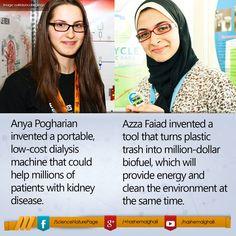 - Anya Pogharian: http://bit.ly/1Keu9DY - Azza Faiad: http://bit.ly/1JpcZEZ
