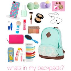 whats in my backpack✌️