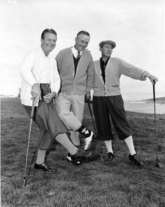 Jimmy Demaret & Co. The chicer side of golf in 1927. (Credit: AP)