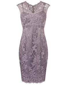 Musk Corded Lace Dress Image 0